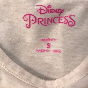 Disney Matching Sets - Disney Princess Belle Outfit Size 5